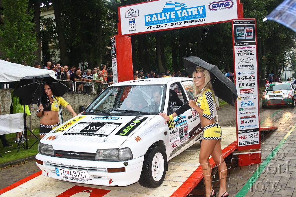 Rallye Tatry 2012 slávnostný štart