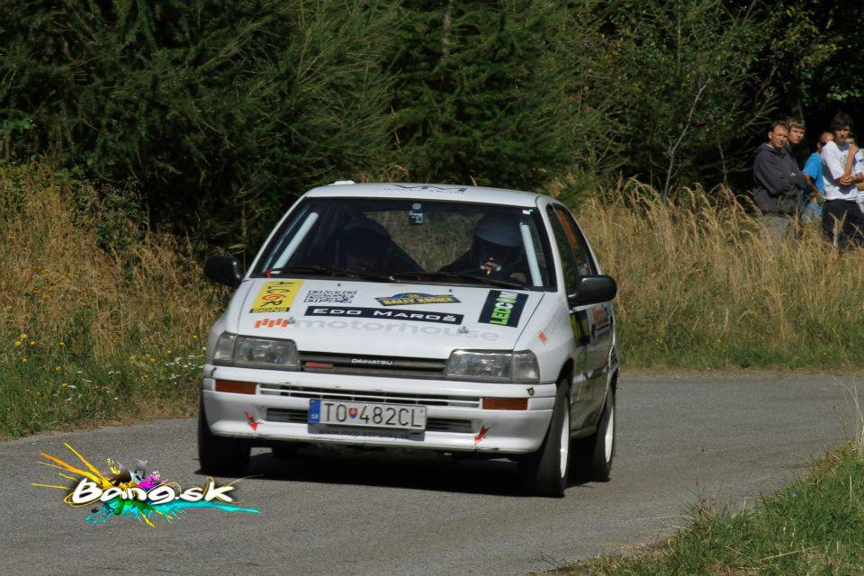 Na trati Rally Košice 2012