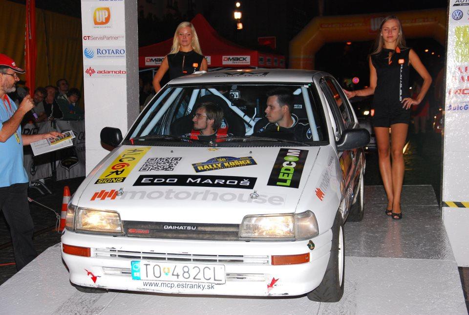 Slávnostný štart 38. Rally Košice 2012