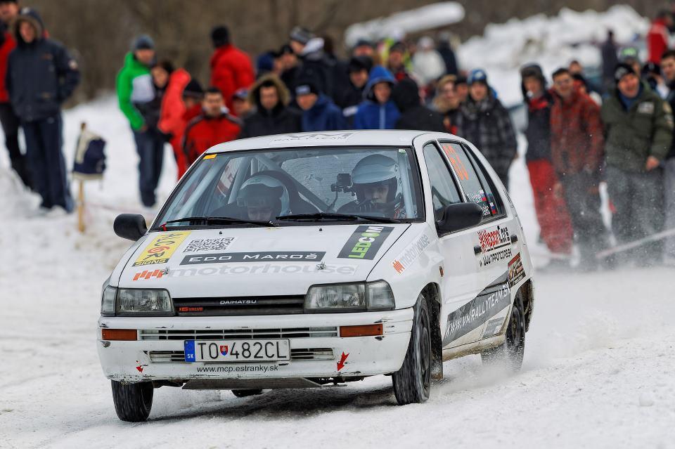 Záber z RS2, Dobšinská zima 2013