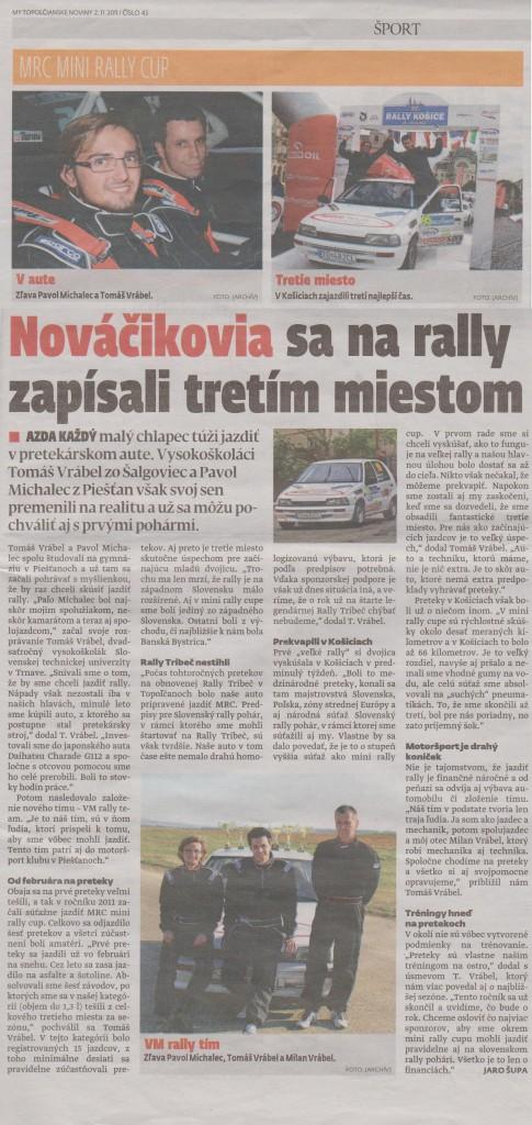 MY - Topoľčianske noviny 2.11.2011