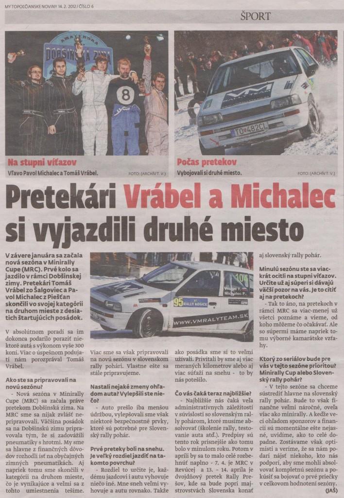 MY - Topoľčianske noviny 14.2.2012